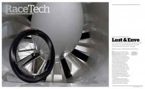 Article in Pro Cycling magazine about Enve Composites