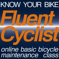 Online basic bicycle maintenance class