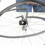 Changing a flat tire on a road or triathlon bike video