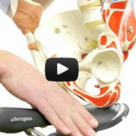 Video image about bicycle seat