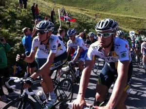 Tour de France riders Timing Nutrition